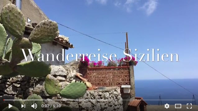 video wanderreise sizilien